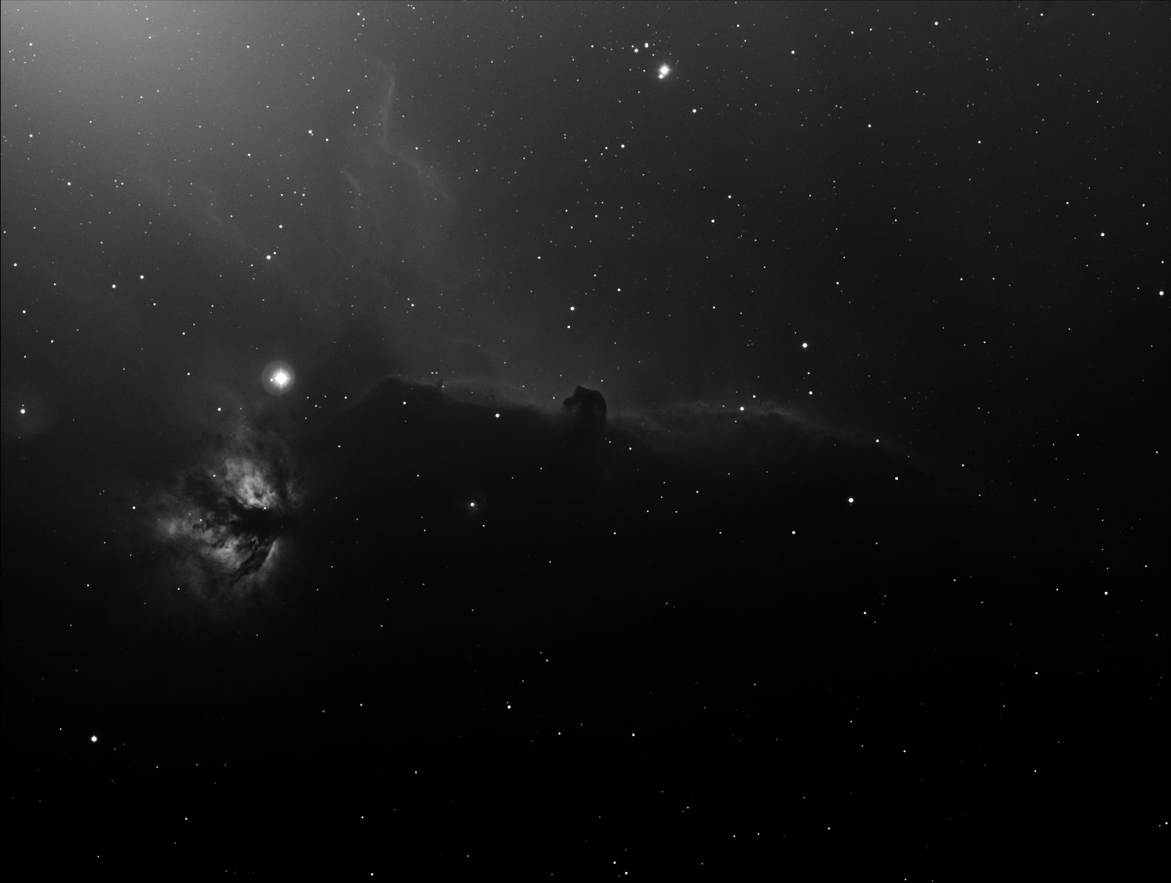 IC434 La nébuleuse de la tête de cheval - Alban BERNARD