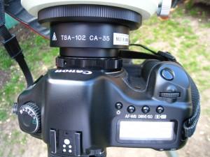 Canon EOS 5D avec filtre Baader - Alban BERNARD
