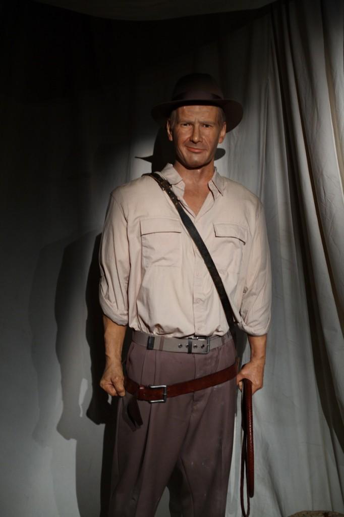 Harrison Ford au musée Grévin