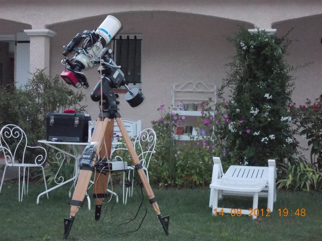 Setup Astro Alban BERNARD Aout 2012