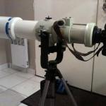 Canon EOS 5D sur Takahashi FSQ106 et tête pendulaire Manfrotto 393