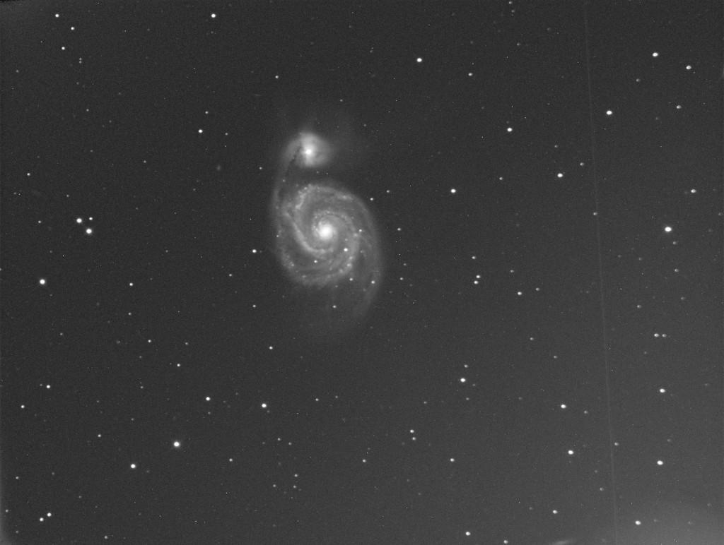 M51 Whirlpool Galaxy - Mai 2014 - Alban BERNARD