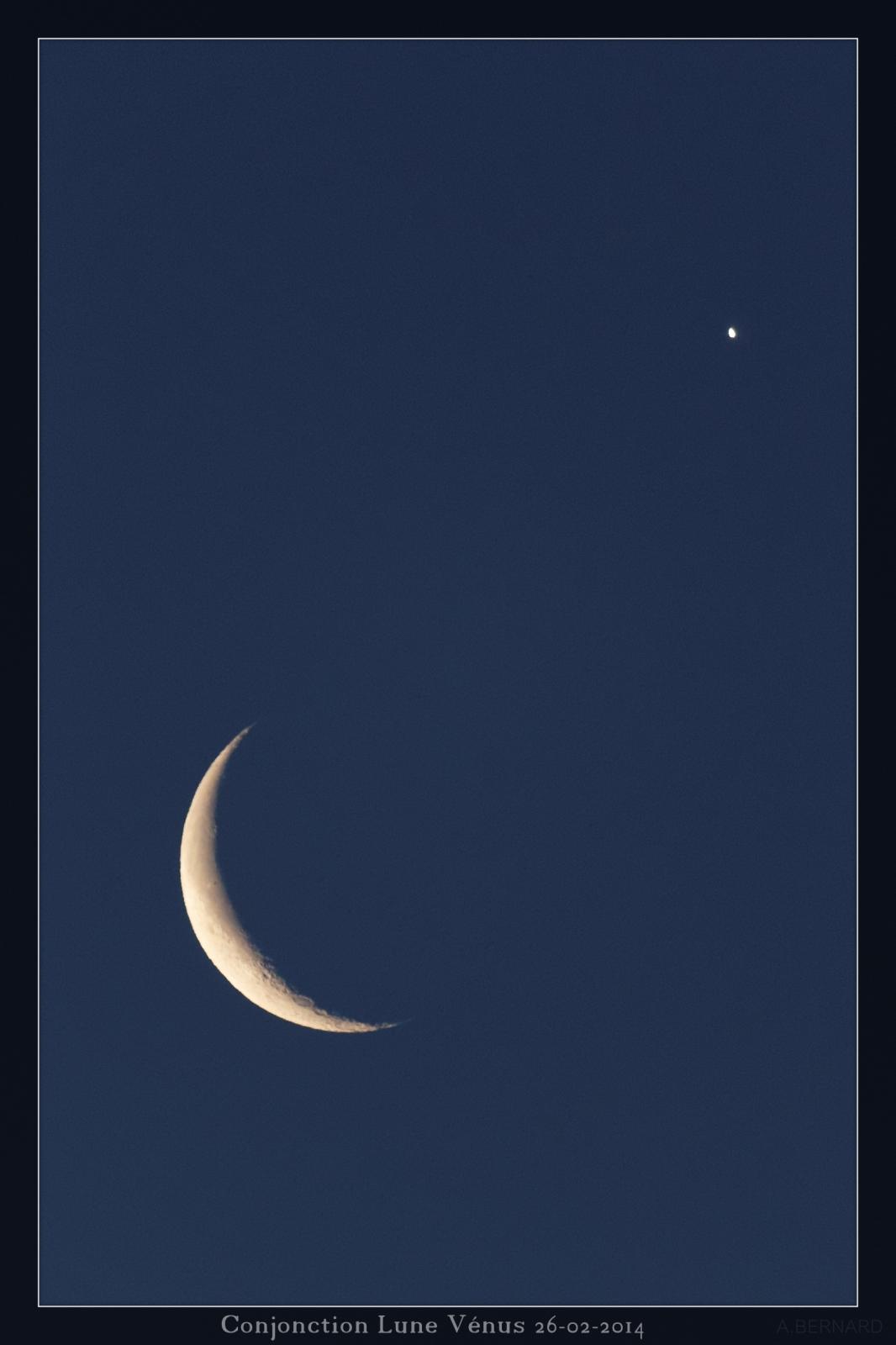 Lune - Vénus le 26-02-2014