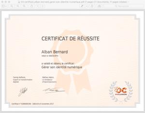 04 certificat_alban-bernard_gerer-son-identite-numerique 83%