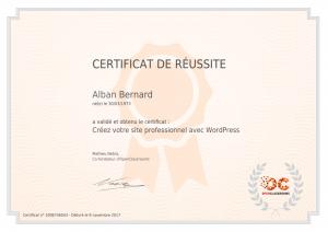 certificat_alban-bernard_creez-votre-site-professionnel-avec-wordpress