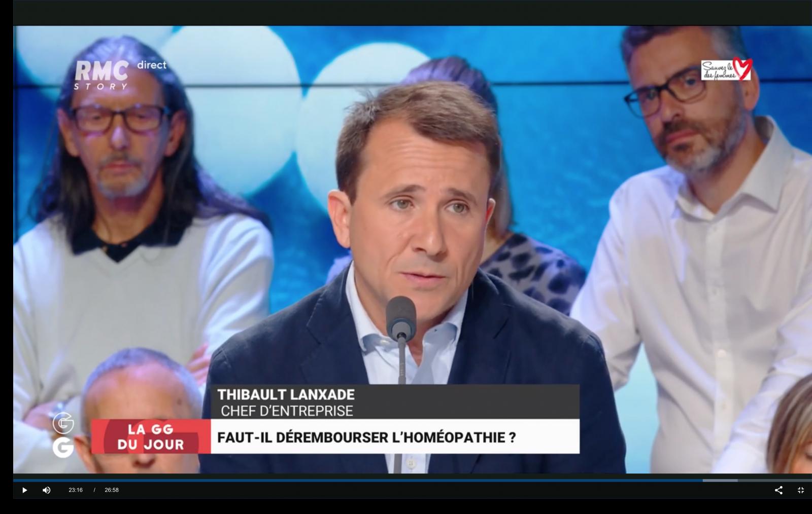 Emission TV les Grandes Geules du 16 mai 2019 sur RMC