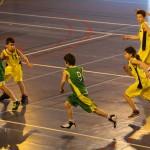 Kévin (N°8) au basket