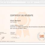 03 certificat_alban-bernard_comment-le-modele-economique-des-entreprises-se-bouleverse-pour-aller-vers-de-nouveaux-clients 100%