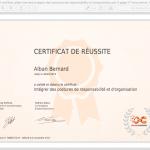 11 certificat_alban-bernard_integrer-des-postures-de-responsabilite-et-dorganisation 100%