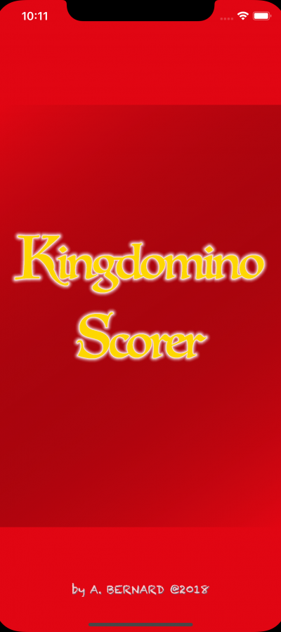 King Domino Scorer by Alban BERNARD